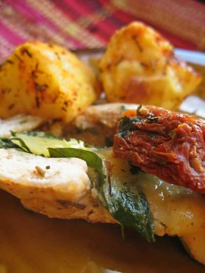 Chicken Portobello with Mozzarella