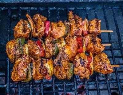 Sweet BBQ Chicken Kabobs