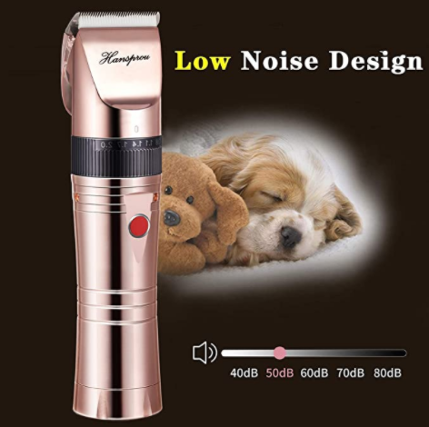 Motor Noise and Vibrations dog clippers